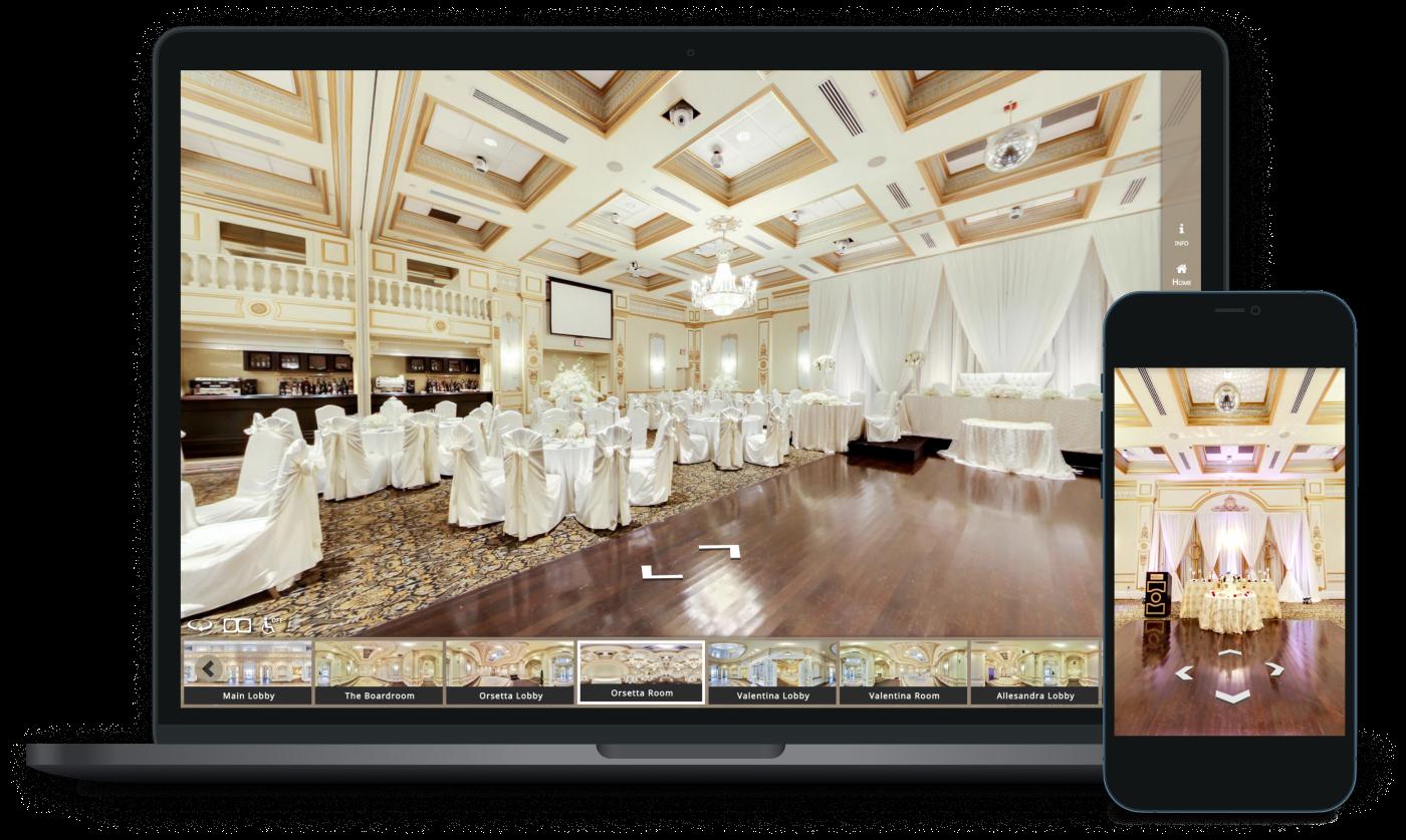 Event Venue Custom 360° Virtual Tour