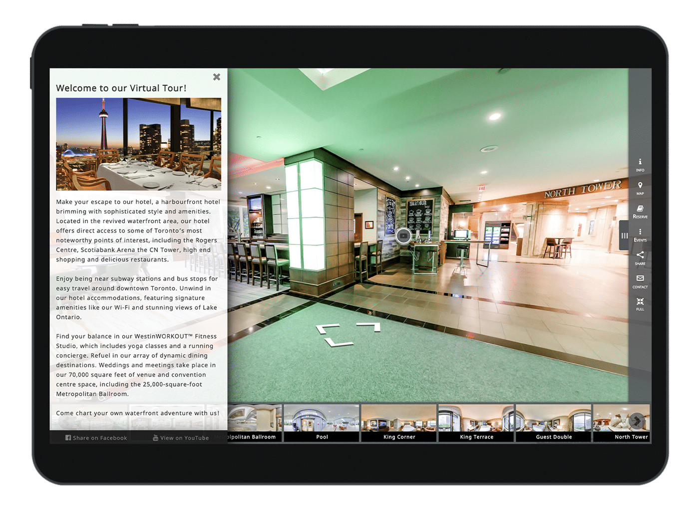 Hotel Custom Virtual Tour