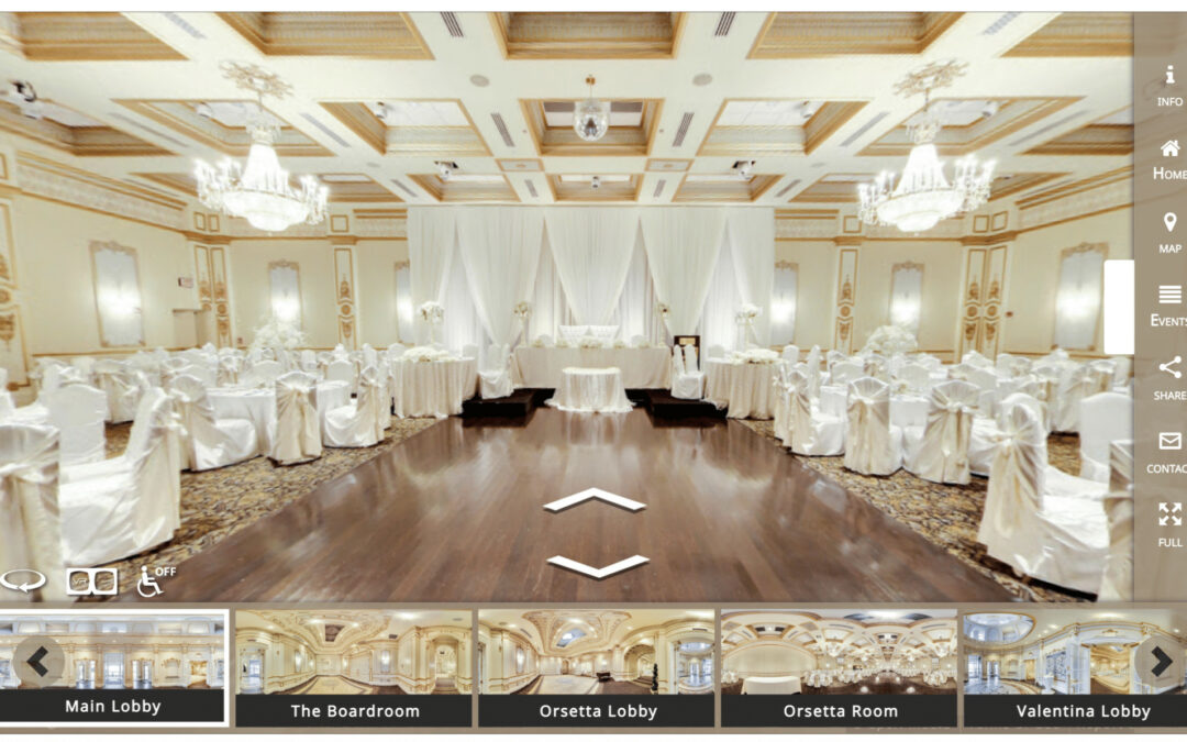 Take Your Venue To The Next Level With a Virtual Tour