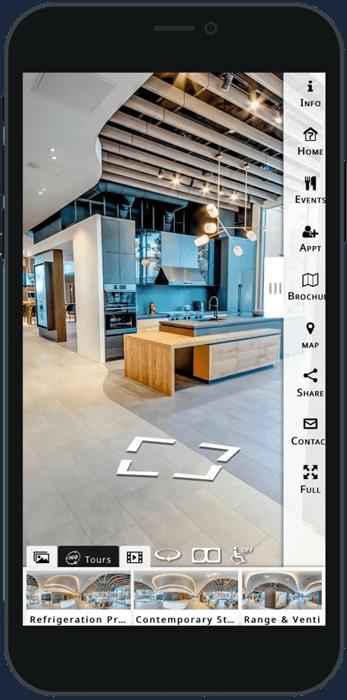 Design Showroom Custom 360° Virtual Tour